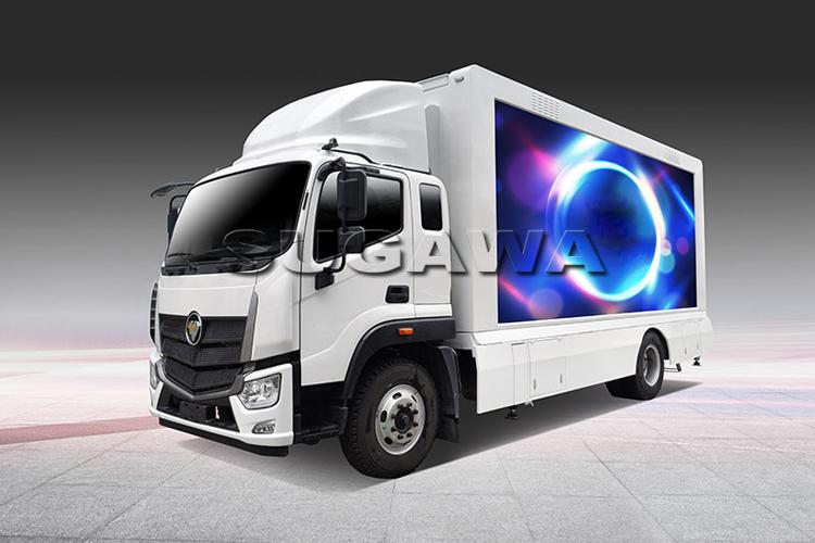грузовик для выставки торгова