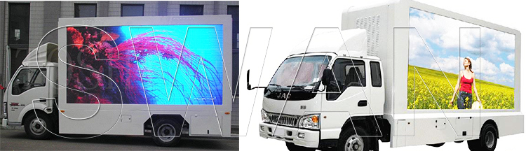 грузовик с led экраном